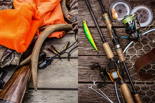 Hunting and fishing equipment